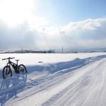 [冬自転車]自転車乗りよ雪原へ!![スパイク]
