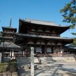 [奈良]奈良中心部から離れている法隆寺へはレンタサイクルで行こう[大晦日][年末]