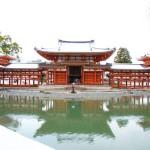 [雪の京都宇治]平等院鳳凰堂と宇治上神社を巡るwithうどん!