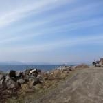 函館山の裏側にある穴澗海岸付近は絶景でした