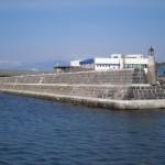 [函館]弁天台場の石材を再利用した防波堤